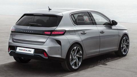 Nový Peugeot 308 2021 môže vyzerať takto. Toto o ňom zatiaľ vieme