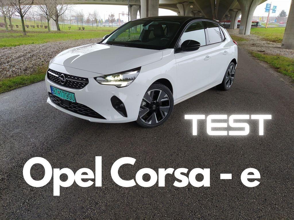 Opel Corsa e elektromobil