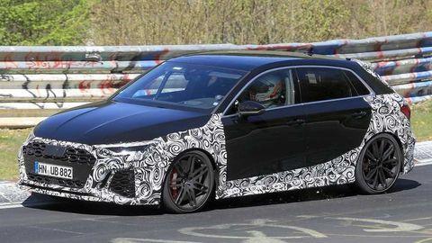 Nové Audi RS 3 2021 už dokončujú. Pôjde o poriadneho dravca!