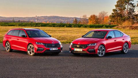 RS modely Škoda majú bohatú históriu. Súčasnosti kraľuje najširšia ponuka motorizácií