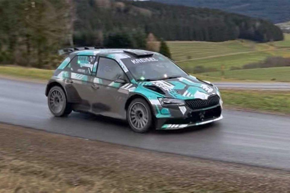 Elektrická Škoda Fabia RE-X1