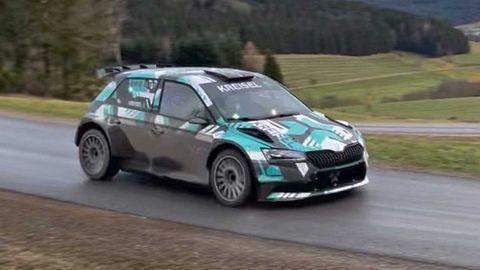 Elektrická Škoda Fabia bude brázdiť rally trate. Takto vyzerá v akcii! (VIDEO)