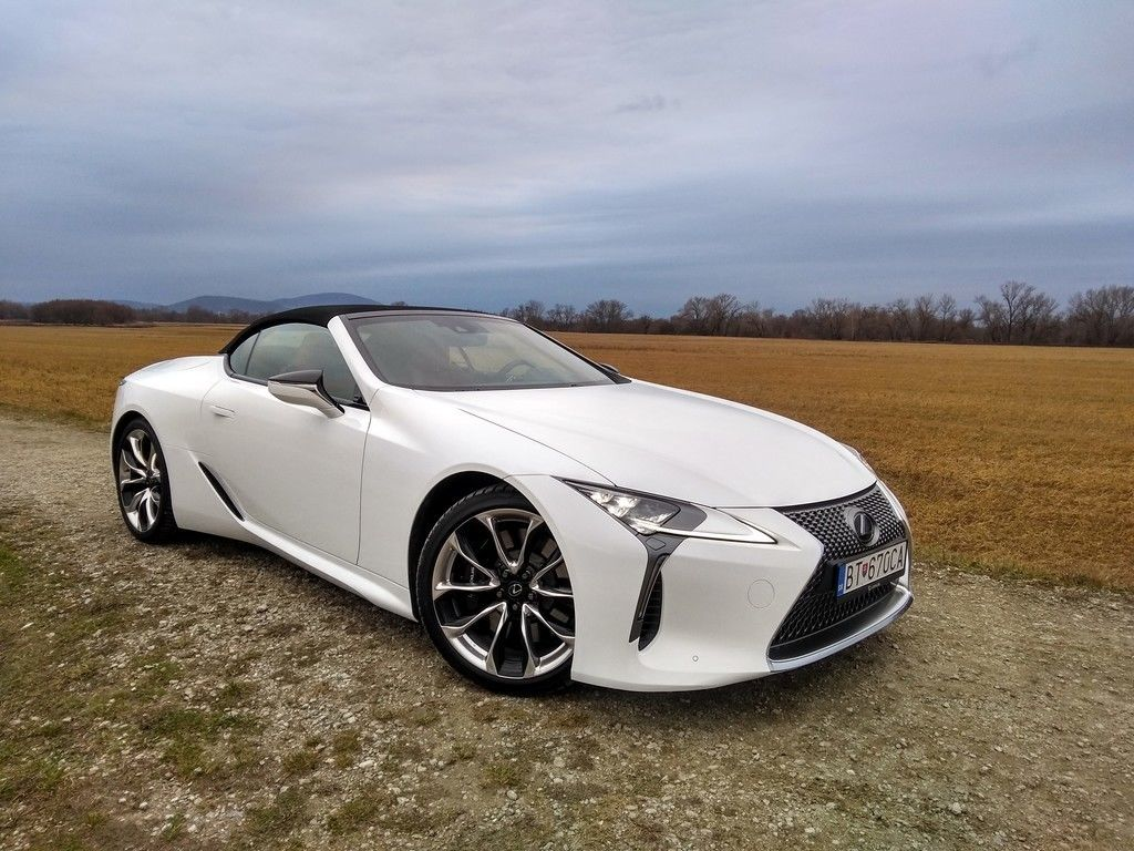 Lexus LC 500 Convertible test