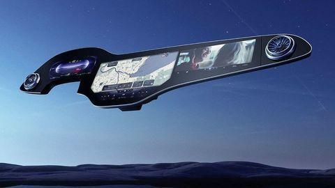 Mercedes predstavil palubnú dosku plnú displejov. Hyperobrazovku dostane nové EQS