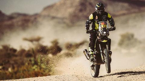 Rely Dakar v polčase