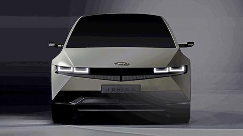 Toto je nový Hyundai Ioniq 5: Retro-futuristický dizajn preberá od štúdie 45