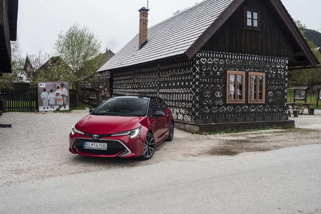 Toyota 2020 predaje na slovensku