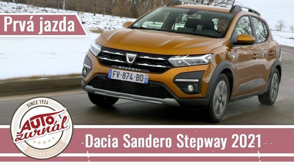 Dacia Sandero Stepway 2021 jazda