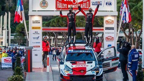 Toyota s Ogierom dobyla Rallye Monte Carlo