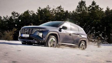 Hyundai Tucson 4x4 Test. Hybrid vs Diesel: Ktorý zvládne v teréne viac?