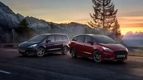 Ford S-Max a Galaxy už aj s 2.5 l hybridným pohonom. Poznáme ceny