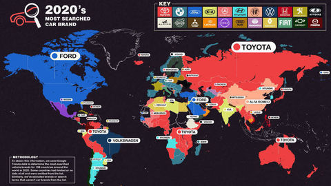 Google: Toyota je najvyhľadávanejšou automobilovou značkou sveta