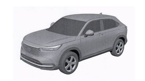 Nová Honda HR-V 2021: Jej vzhľad odhaľujú patentové snímky. Toto o nej zatiaľ vieme