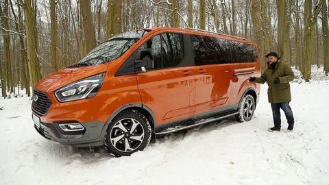 VIDEOTEST Ford Tourneo Custom Active 2.0 TDCi: V štýle SUV