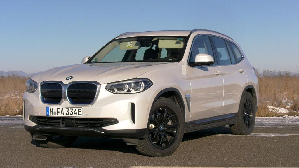 BMW ix3 test autozurnal