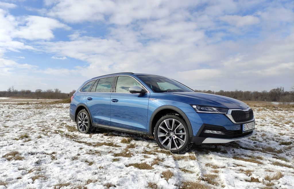 Škoda Octavia Scout test 2.0 tdi
