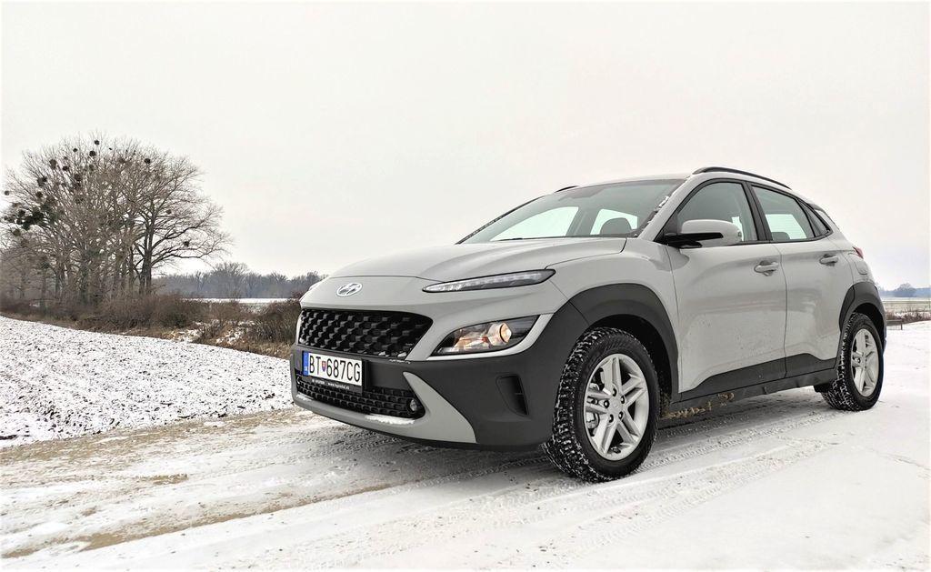 Hyundai Kona 2021 test facelift