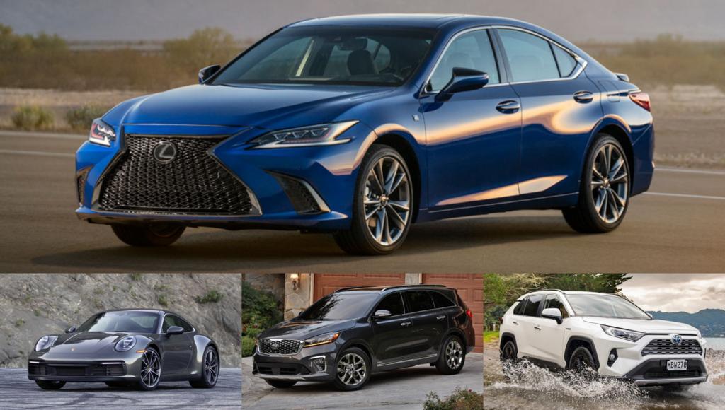 Najspoľahlivejšie autá a značky J.D.Power 2021