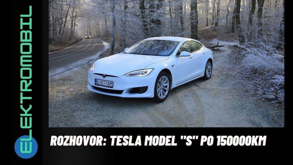 Tesla Model S po 150 000 km