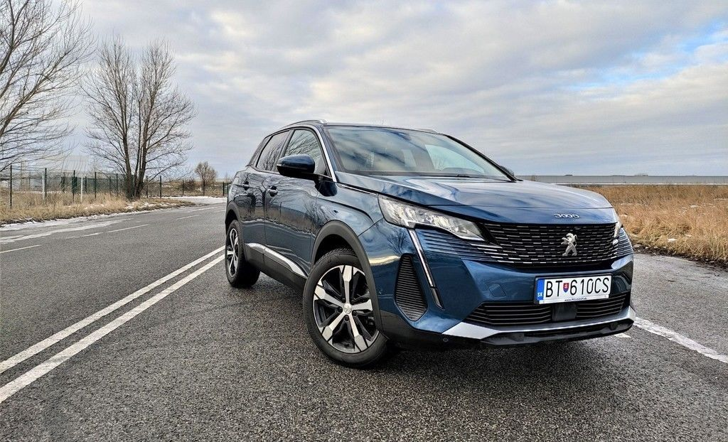 Peugeot 3008 facelift 2021 test
