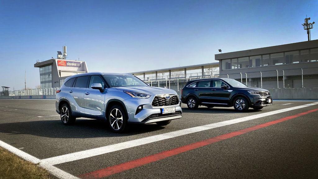 Toyota Highlander Hybrid vs Kia Sorento Hybrid: Ktoré SUV ...