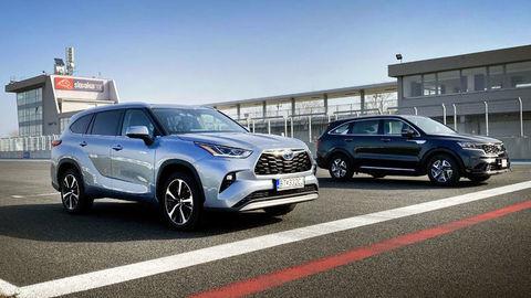 Toyota Highlander Hybrid vs Kia Sorento Hybrid: Ktoré SUV je lepšie?