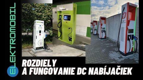 DC rýchlonabíjacie stojany a ich rozdiely v nabíjaní na Slovensku (VIDEO)