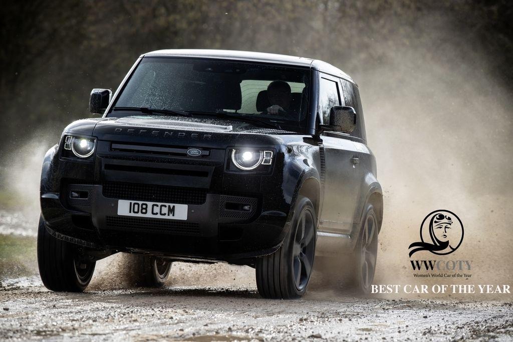 Land Rover Defender zenske auto roka 2021 WCOTY