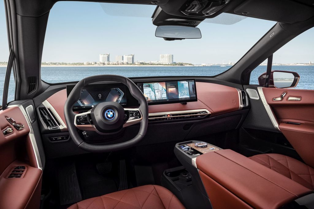 BMW iDrive 8. generacie