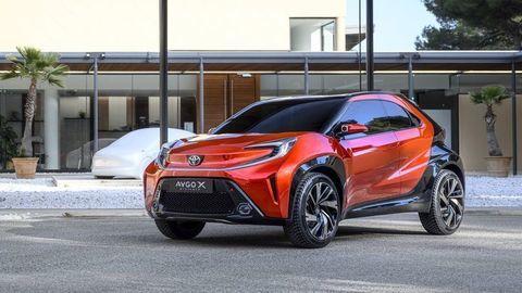 Toyota Aygo X prologue je predobrazom nového mini crossoveru