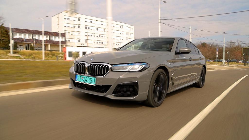 BMW 545e test autozurnal