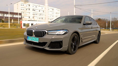 VIDEOTEST BMW 545e xDrive 2021: Prvá liga hybridná
