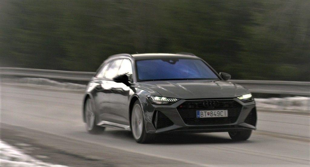 Audi RS6 Avant 2021 Test