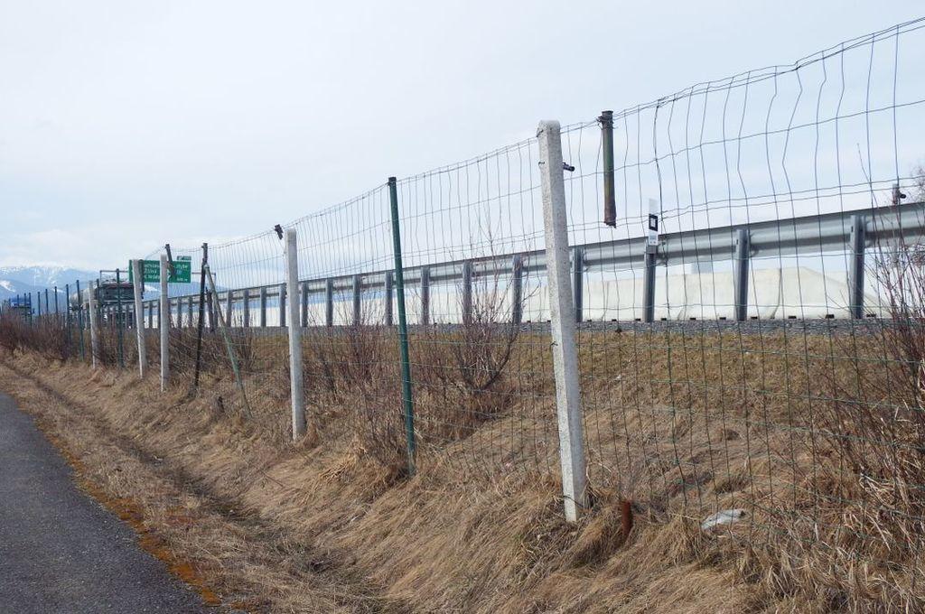 NDS na týchto diaľničných úsekoch vymení opotrebované a poškodené oplotenie