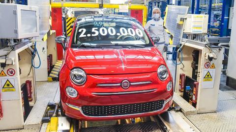 Továreň vTychách vyrobila už dva apol milióna Fiatov 500