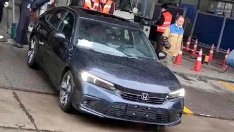 """Honda Civic 2022: """"Únik"""" sériového vzhľadu tesne pred premiérou"""