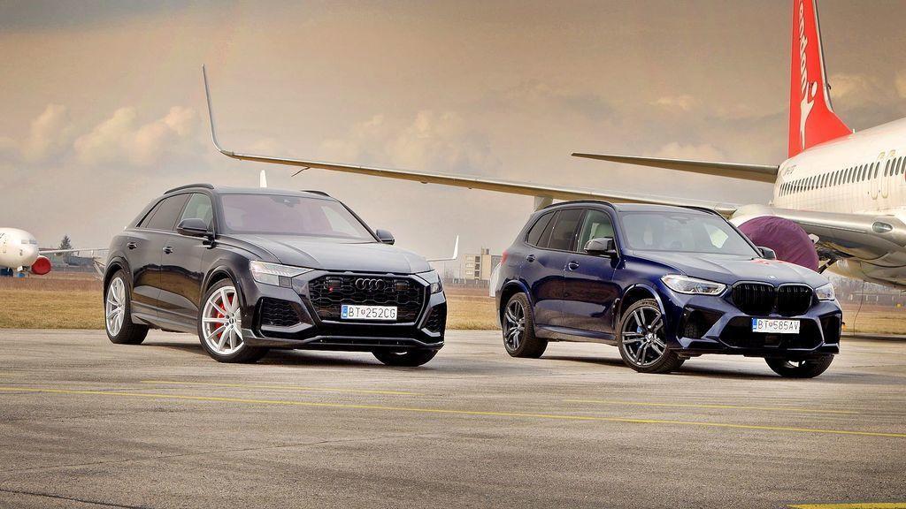 Audi RS Q8 vs BMW X5 M Competition