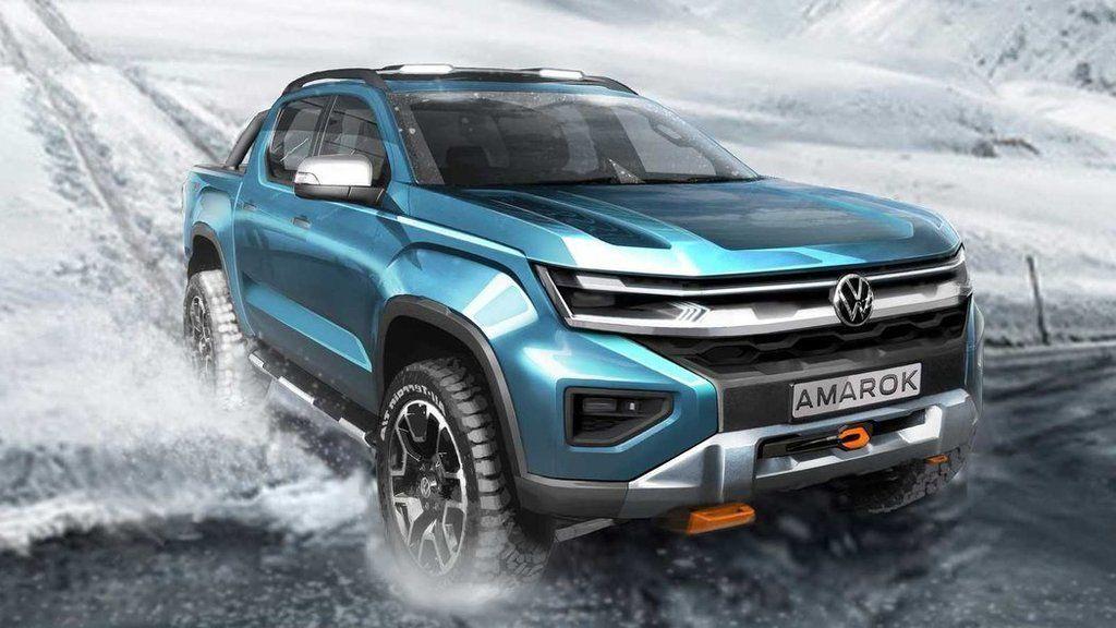 Nový Volkswagen Amarok 2022