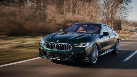 BMW ALPINA B8 Gran Coupé oficiálne: Vybrúsený diamant z Buchloe