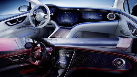Mercedes-Benz EQS ukázal dva typy interiéru. Jeden z nich je revolučný a vládne mu Hyperscreen