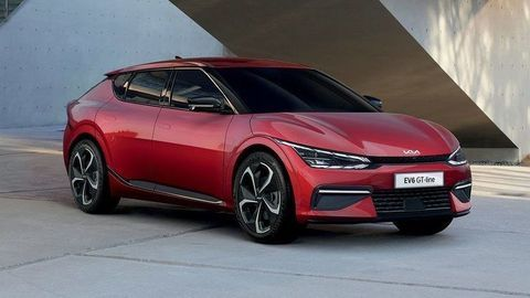 Nová KIA EV6 podrobnejšie: Vrcholná verzia GT ponúka až 430 kW a 740 Nm!