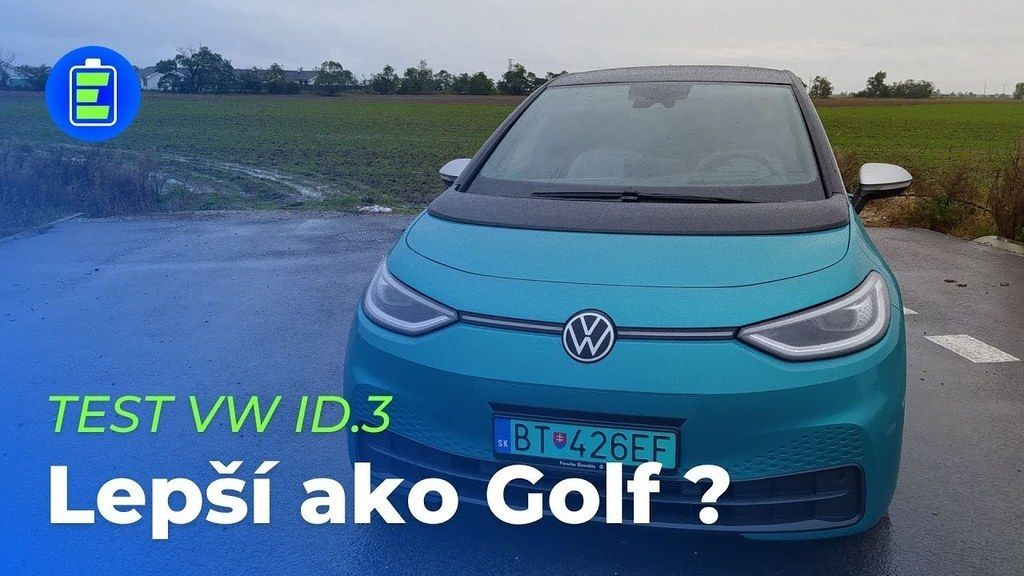 VW ID.3 elektromobil test