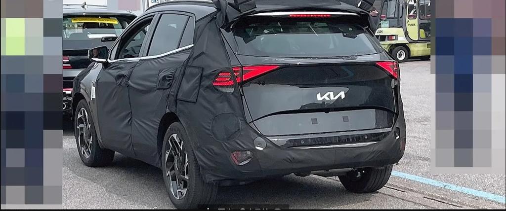 Kia Sportage 2022 rear