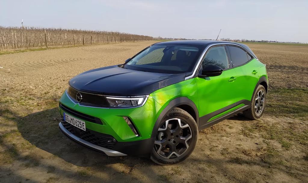 Opel Mokka-e test