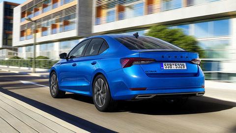 Škoda Octavia Sportline kombinuje športovejší vzhľad s civilnou technikou