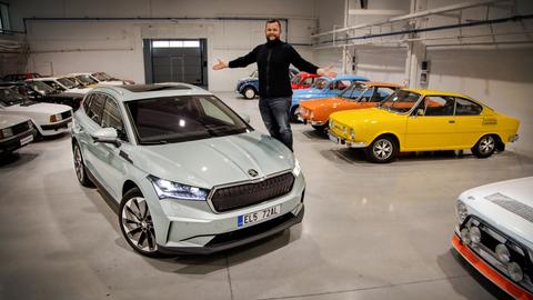 Škoda Enyaq iV 80: Prvé kilometre s elektrickým SUV (VIDEO)