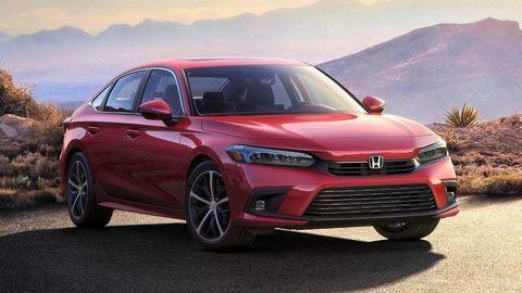 Toto je nová Honda Civic na oficiálnom zábere. Premiéra bude o dva týždne