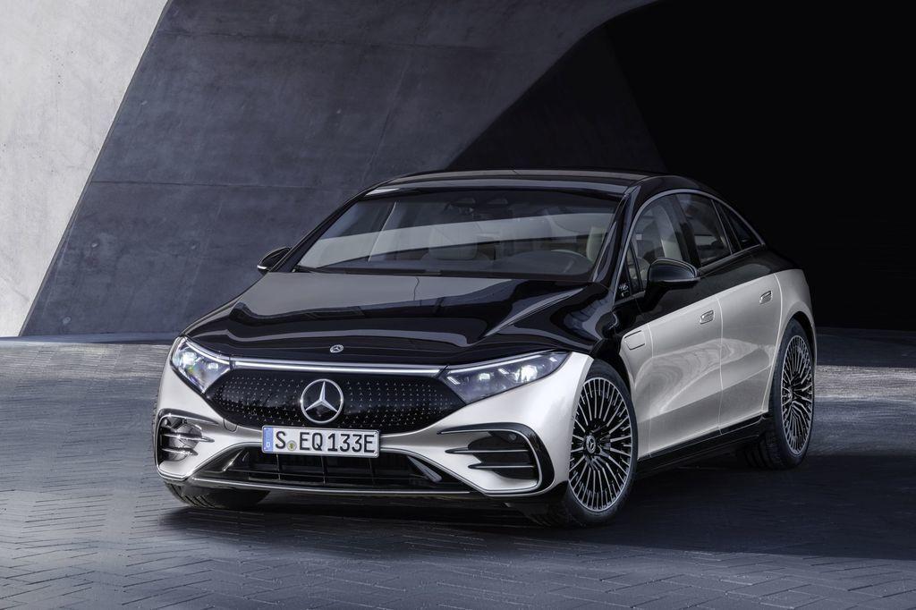 Mercedes EQS 2021 najluxusnejsi elektromobil