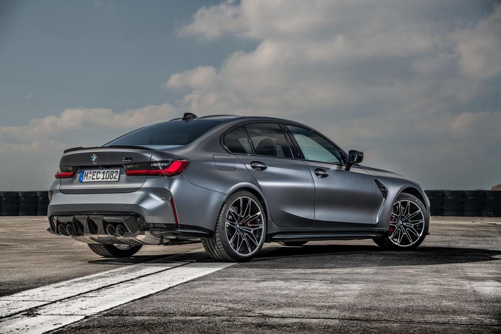 BMW M3 MxDrive a M4 xDrive