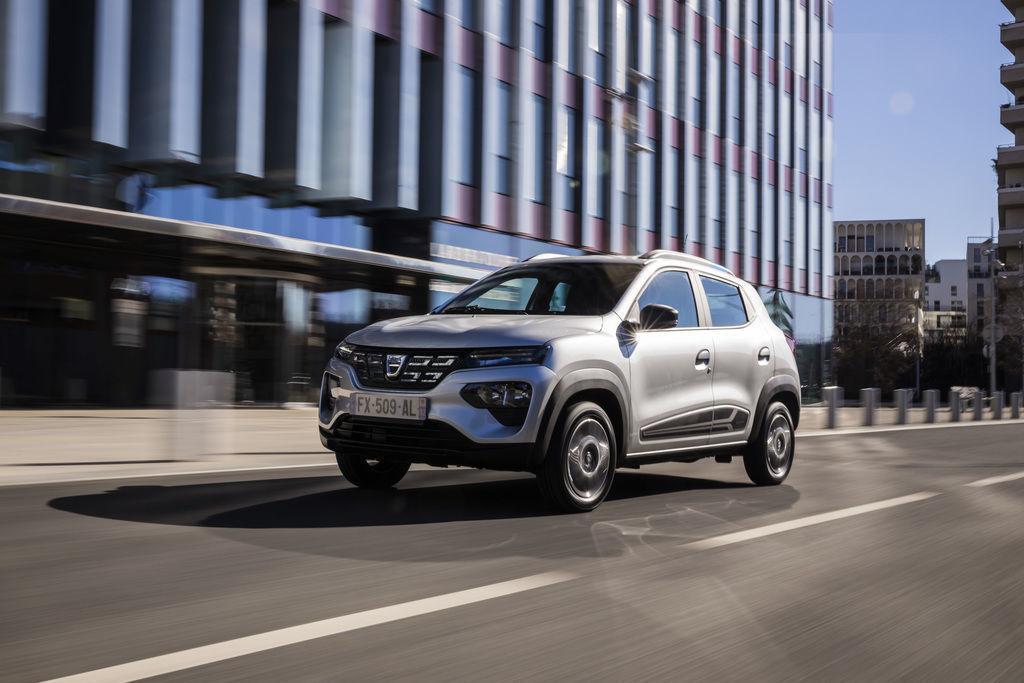 Dacia Spring cena 2021